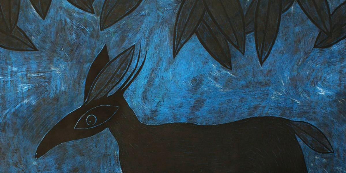Biche bleue