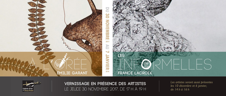 À l'orée - Émilie Garant / Les Informelles - France Lacroix