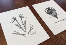 Deux œuvres miniatures à la BIAM de Ville-Marie
